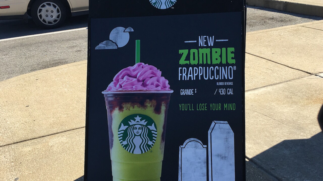 Starbucks insiders tease 'Zombie Frappuccino' for possible Halloween menu