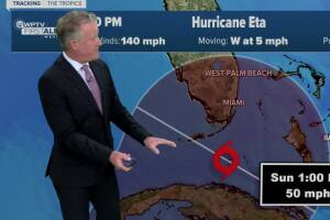 South Florida in cone of concern for Hurricane Eta