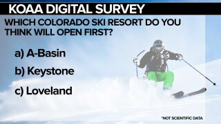 KOAA Survey: Which Colorado ski resort do you think will open first?