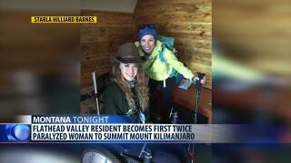 Paralyzed Montana woman conquers Mount Kilimanjaro