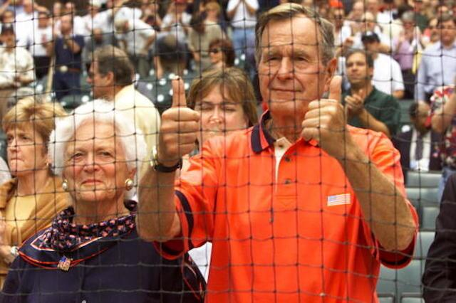 PHOTOS: President George H.W. Bush through the ages