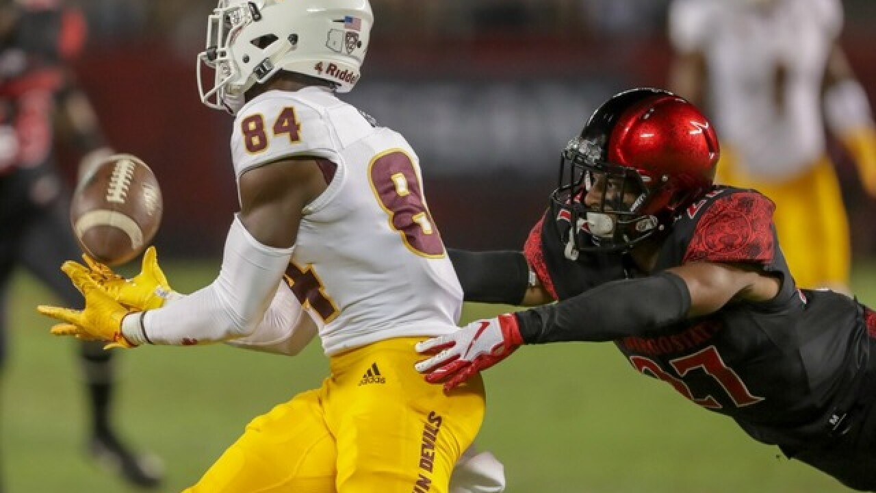 Fans livid with call in final seconds as ASU loses to San Diego State
