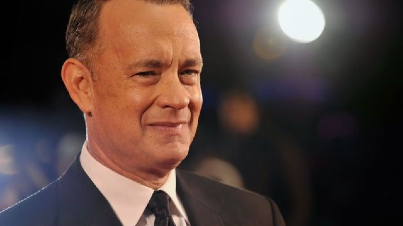 Tom Hanks isn't psyched about a Trump presidency