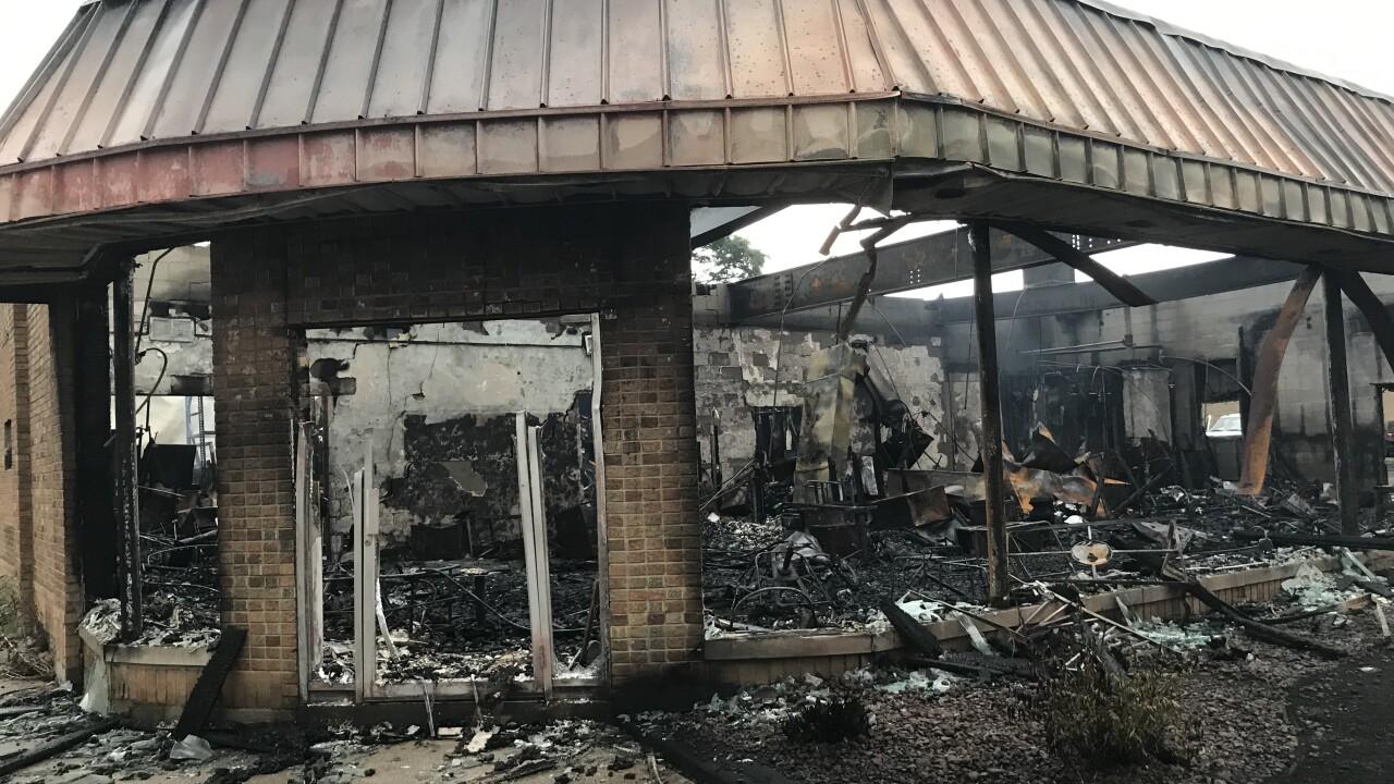 Kenosha destruction civil unrest