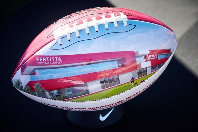 PHOTOS: Fertitta Football Complex groundbreaking