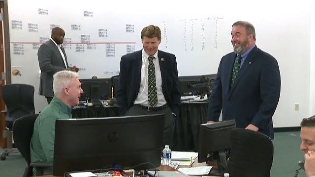 Inside the Packers war room as they prepare...