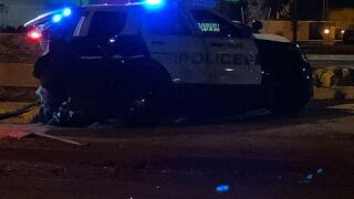 I10 Elliot police DUI crash