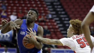 Scott likes what he sees in returning Air Force hoops players