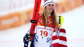 USA's Mikaela Shiffrin wins silver in women's Olympic Alpine combined