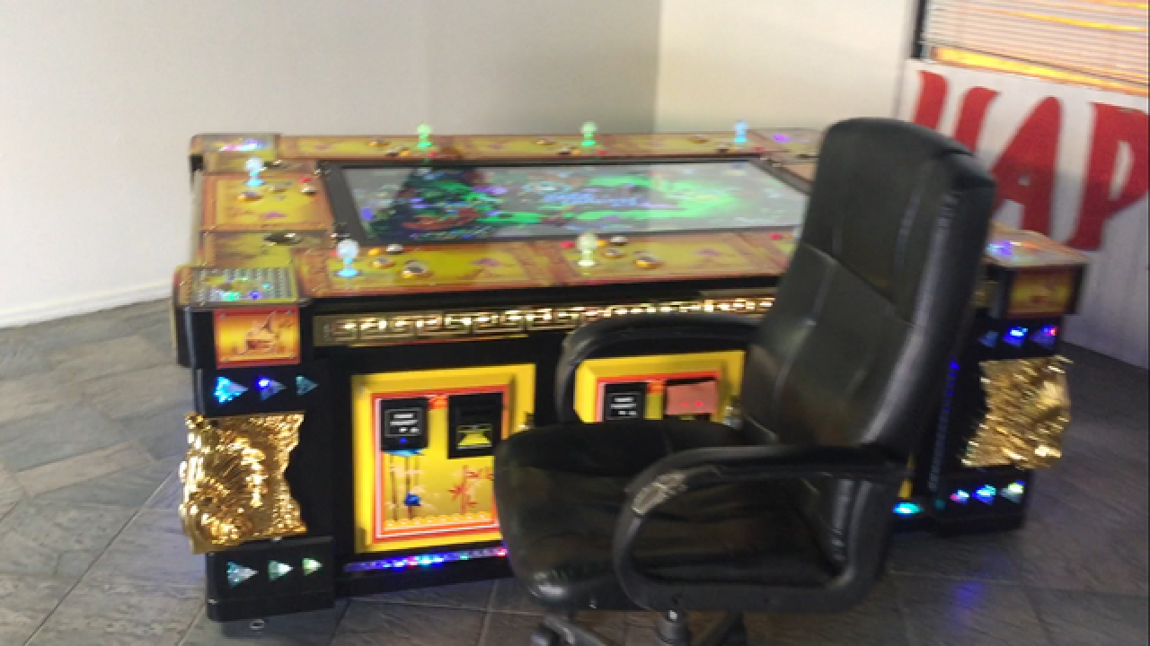 Gambling machines seized in investigation