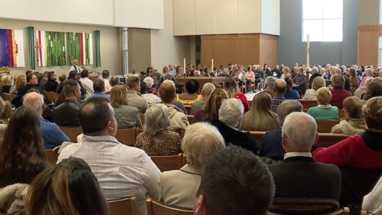 Lorain church holds first services since fire