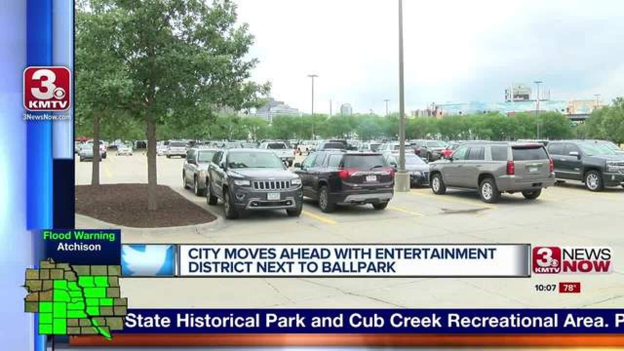 Entertainment spot next to ballpark moves ahead