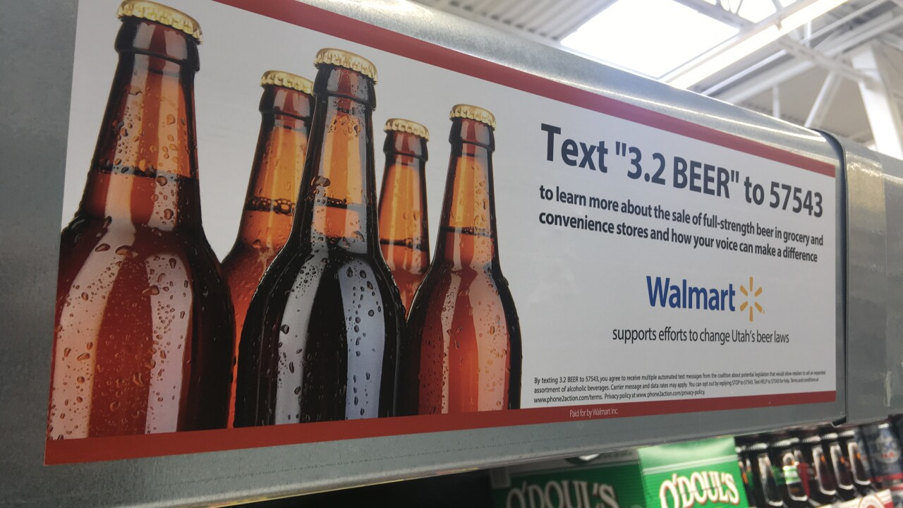Walmart joins the push for Utah to ditch 3.2 beer as six-packs start disappearing from shelves