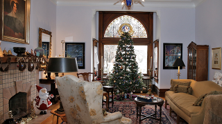 Home Tour: Lovingly restored Newport Victorian part of East Row Christmas Tour