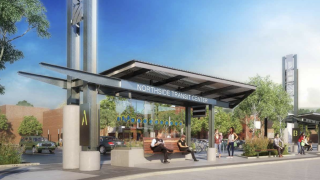 Northside Transit Center Rendering