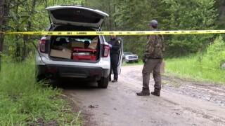 Olney Murder Crime Scene
