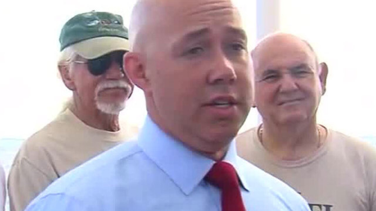 U.S. Rep. Brian Mast hopes new legislation will stop Lake Okeechobee discharges