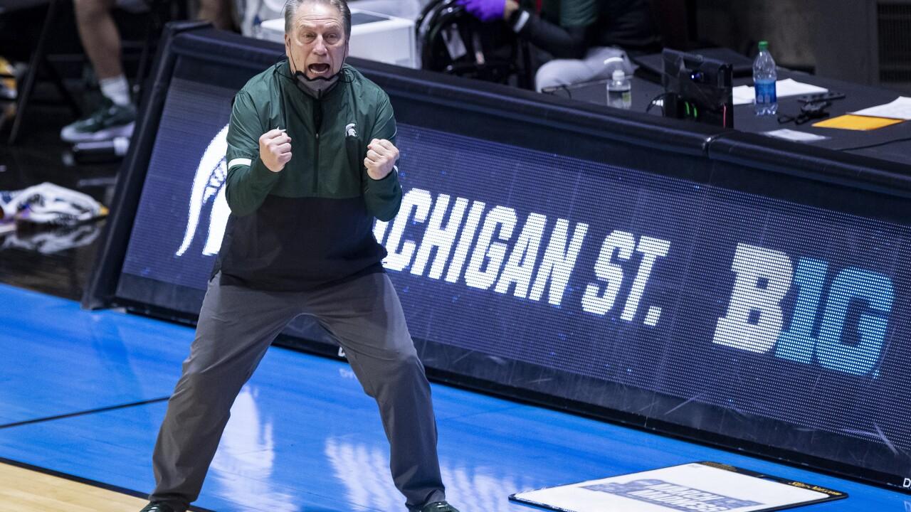 Tom Izzo NCAA Michigan St UCLA Basketball