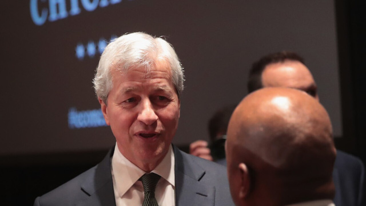 JPMorgan's Jamie Dimon gushes about tax cuts