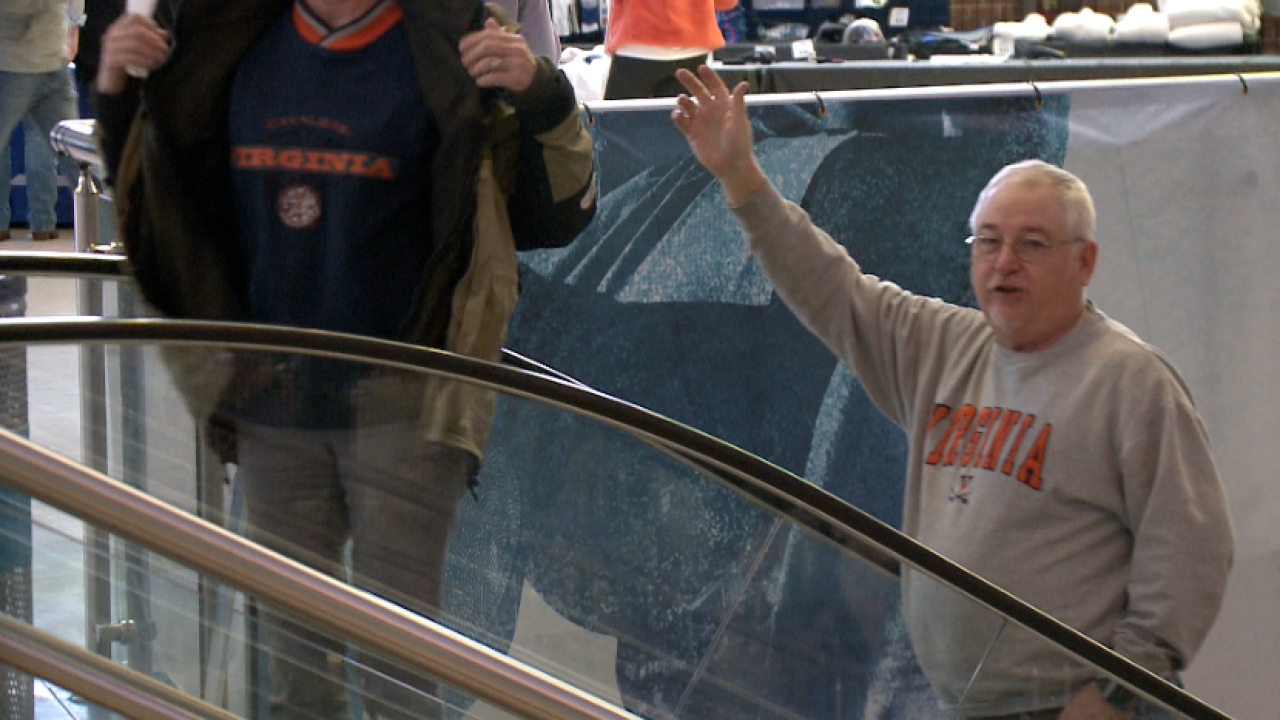 Past the pain: UVA men's hoops fans return to Charlotte after last year's historic upset