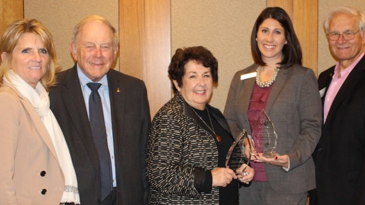 Herberts, Sparrow Foundation honored with awards