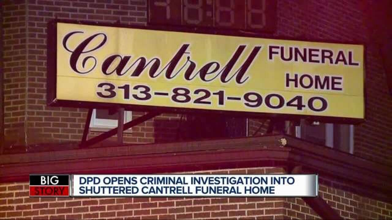 Cantrell II on babies found:  'Unconscionable'