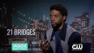 "Chadwick Boseman Plays Real-Life Hero in New ""21 Bridges"" Film"