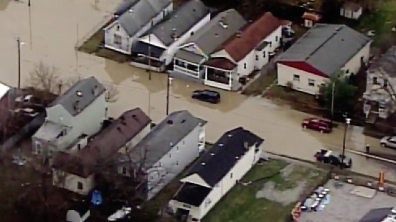 LIVE: Chopper 9 surveys flooding, storm damage