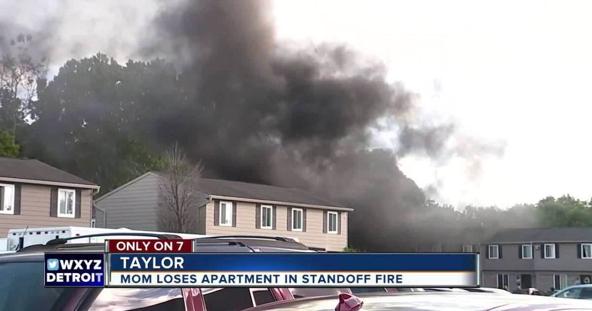 Woman loses everything in fire started during police standoff