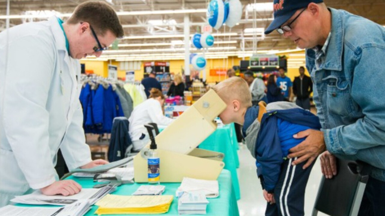 Walmart Wellness Day offers free health screenings before the new school year