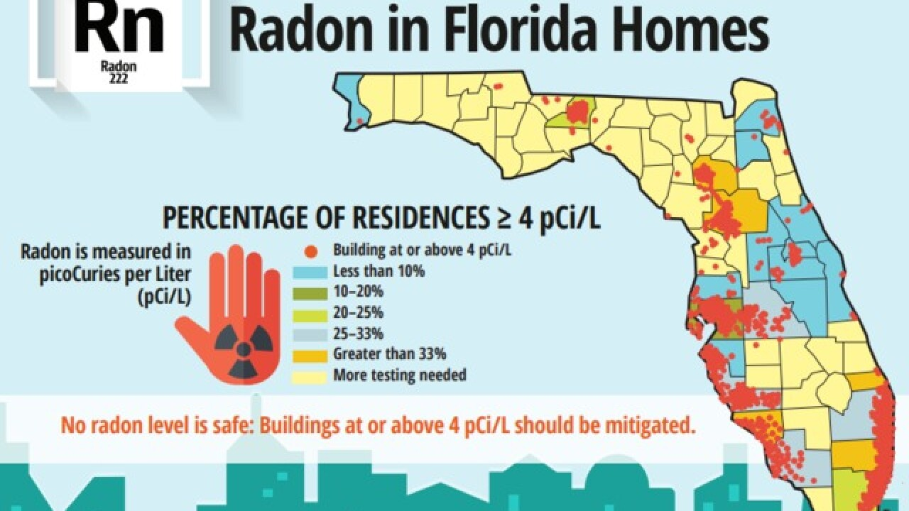 How to get a free radon test kit in Florida