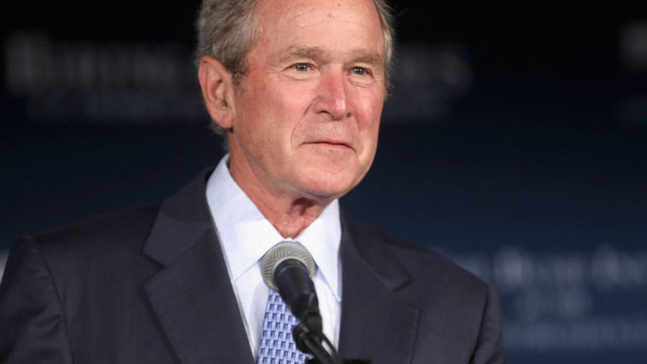 Former President George W. Bush to help raise cash for Florida governor's US Senate bid