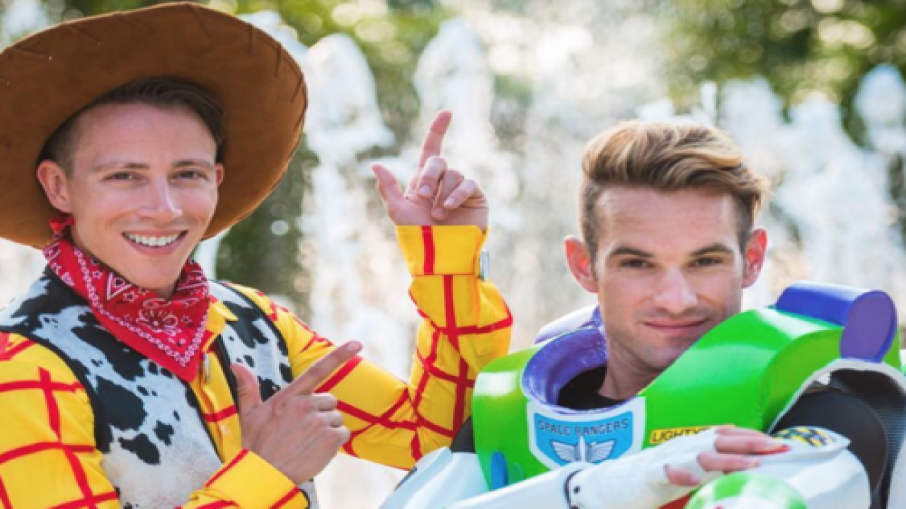 Buzz Lightyear And Woody Got Married In An Adorable Disney-Themed Wedding