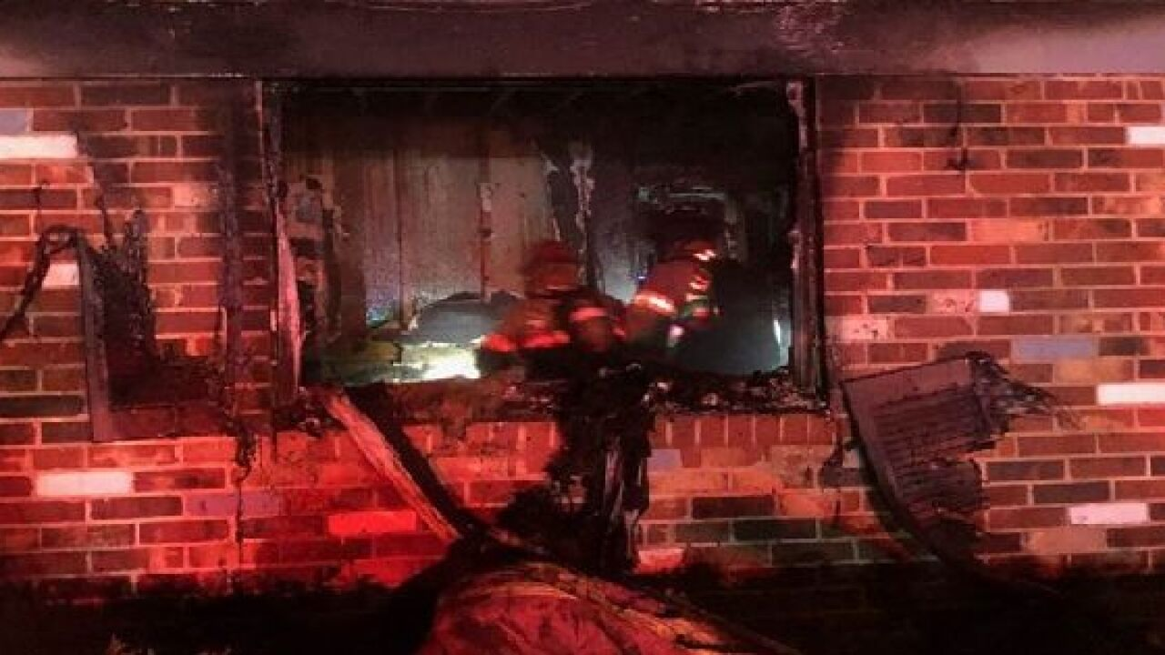 Tallahassee home catches fire after lit candle left unattended 2