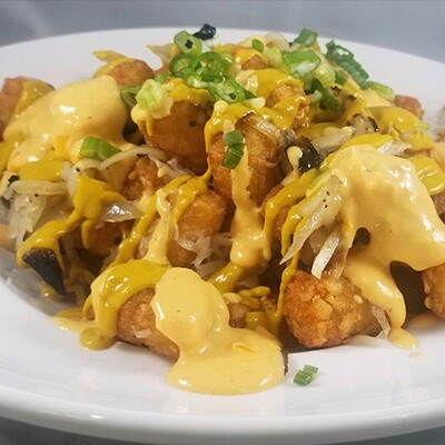 Brat-Tot-Chos at Blue Moon Tavern at the Park