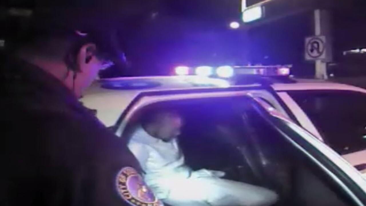 Body camera footage: Michael Floyd's arrest