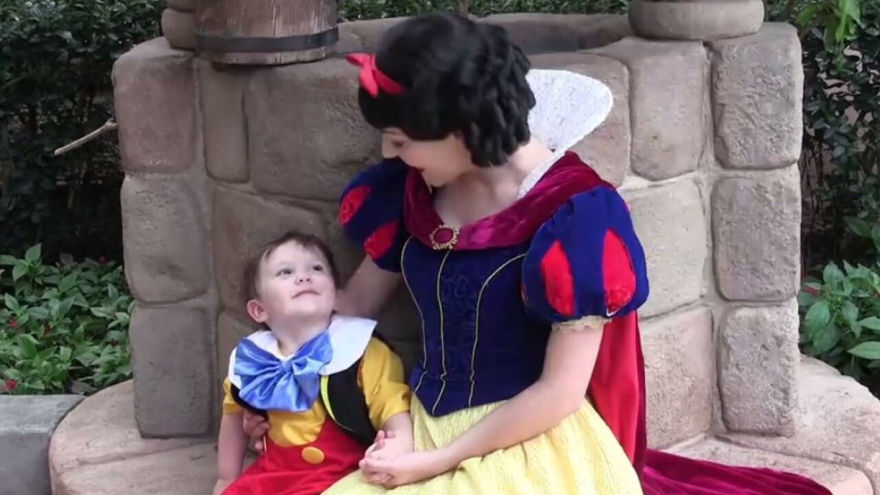 Little Boy With Autism S Reaction To Snow White Will Melt Your Heart