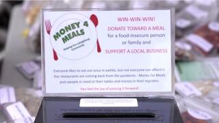 Money 4 Meals Donation Box
