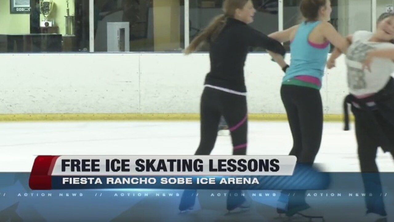 Sobe Ice Arena Offers Free Ice Skating Lessons