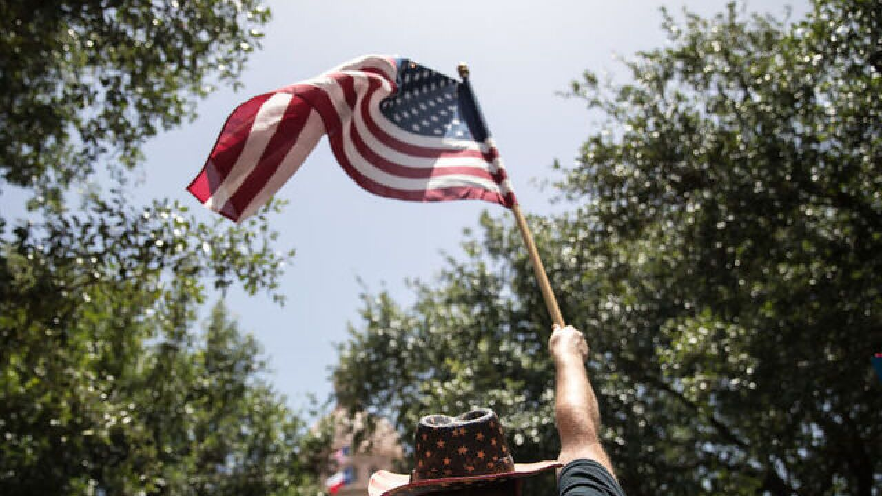 American patriotism is down, poll says