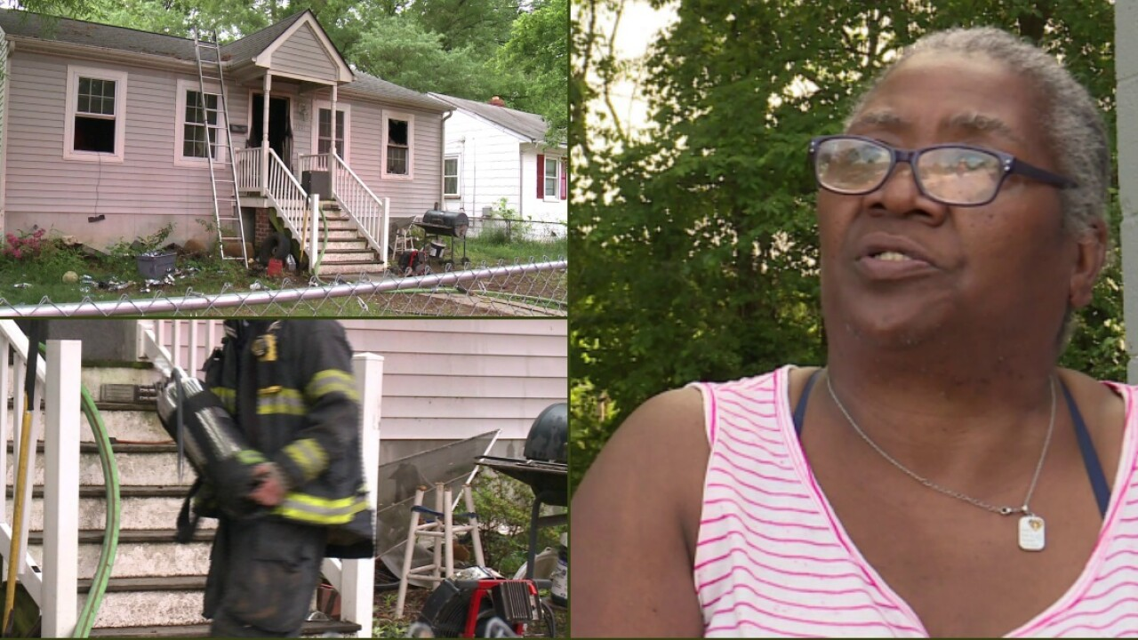 Southside 'grandma on the block' who says home was intentionally set on fire has 'no enemies'