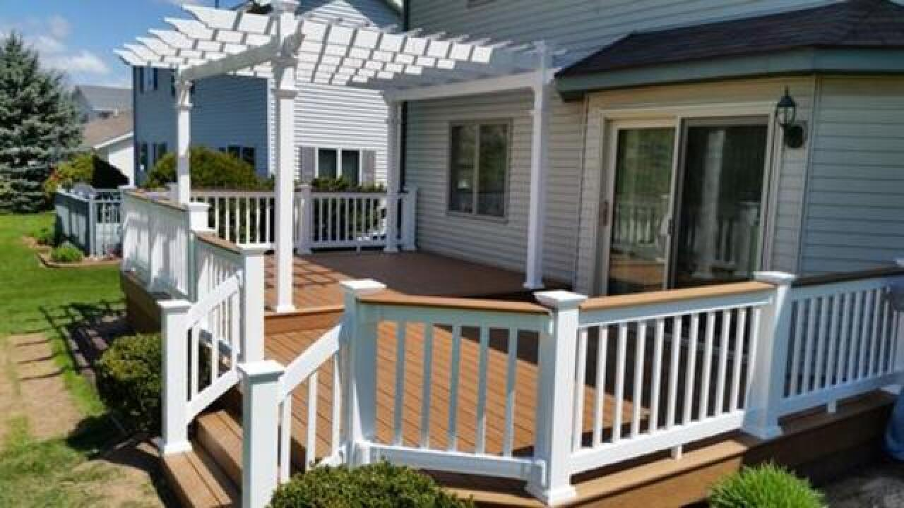 Menards Home Improvement Topic: Prevent Deck Problems before they Start
