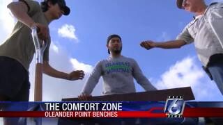 Eagle Scout project provides new benches at Oleander Point