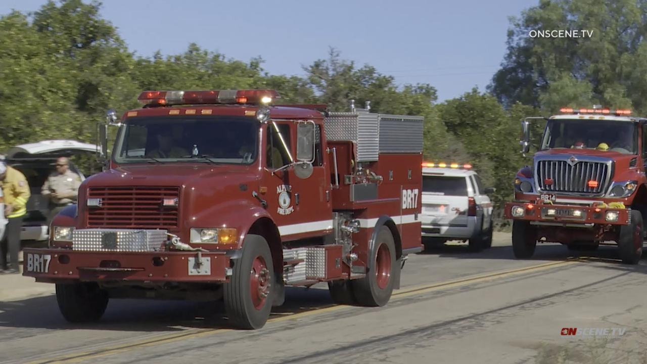 miller fire valley center truck