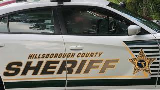 Hillsborough county sheriff's office patrol car