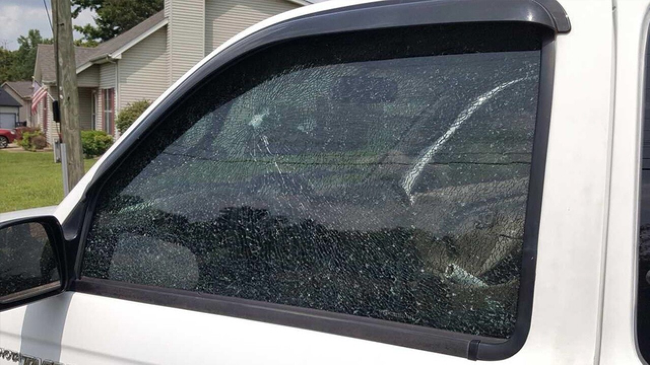11 Vehicles Vandalized In Clarksville