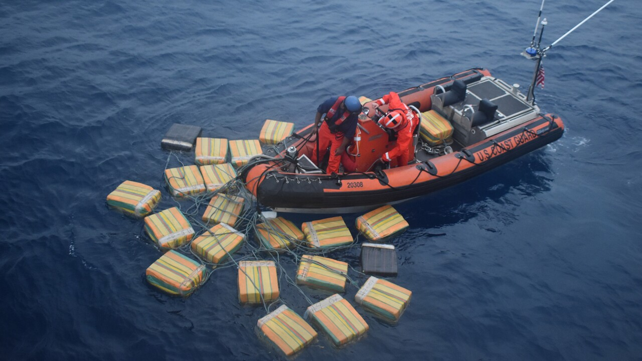 Crew of Portsmouth-based Coast Guard Cutter talks about massive drugbust