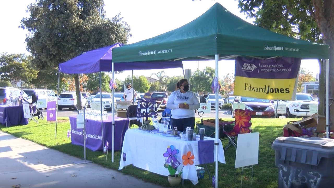The Alzheimer's Walk is a national event to raise awareness about the disease and funds to find a cure.
