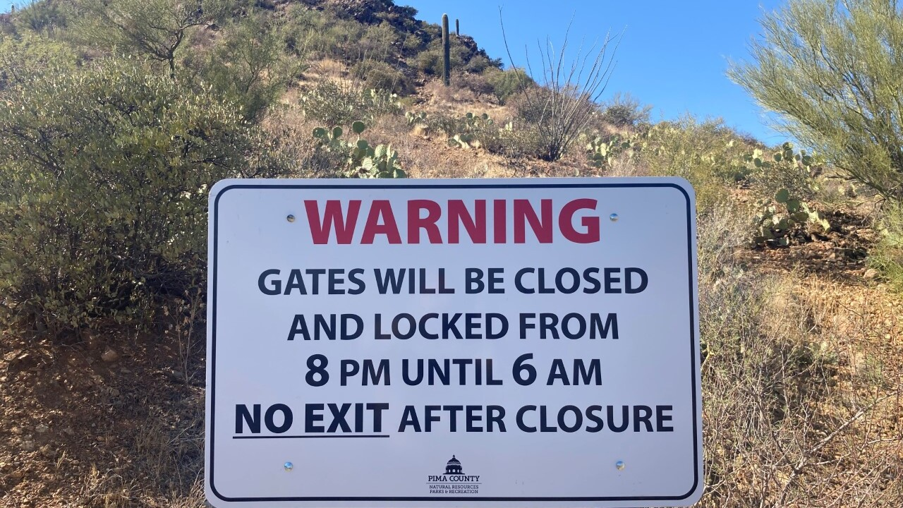 Pima County Sheriff's deputies will step up firearm law enforcement at Tucson Mountain Park.