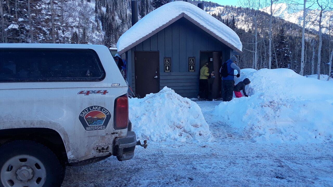 SLC Public Utilities step up in wake of government shutdown to maintain public restrooms in forests andcanyons